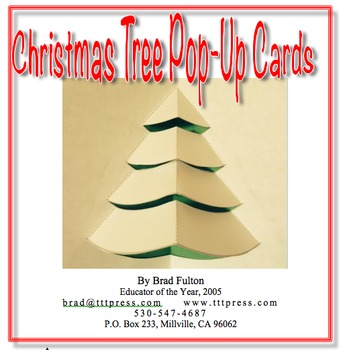 Christmas Tree Pop-up Cards