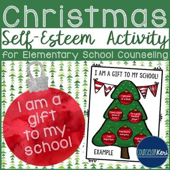 Christmas Tree Self Esteem Activity - Elementary School Co
