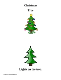 Christmas Tree Prepositions Book