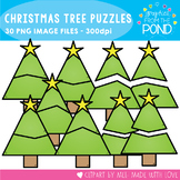 Christmas Tree Puzzle Clipart