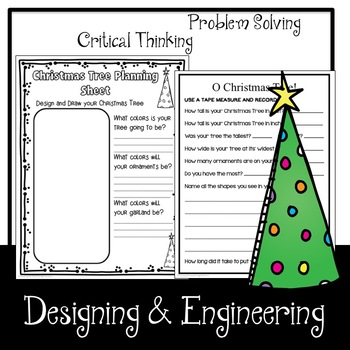 Christmas Tree Puzzle STEM Challenge