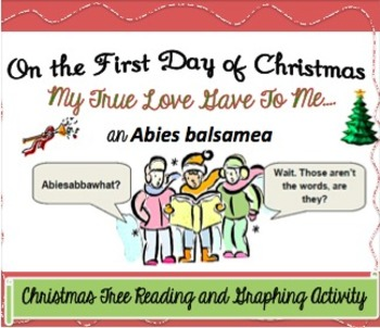 Christmas Tree Reading and Graphing Activity