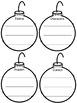 Christmas Tree Retelling Printables