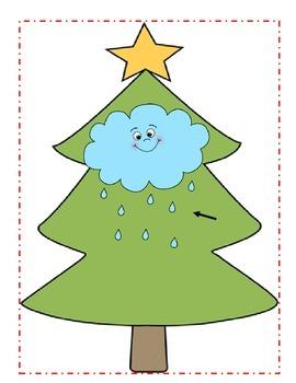 Christmas Tree Rhyming Match