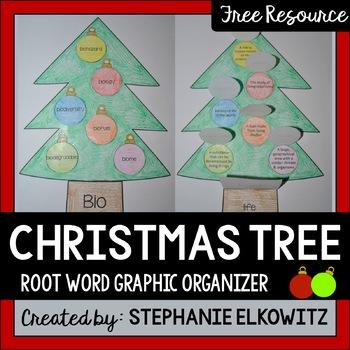 Christmas Tree Graphic Organizer - Christmas Tree Graphic Organizer By Stephanie Elkowitz TpT