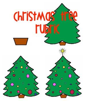 Christmas Tree Rubric Visual For Kids