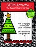 Christmas Tree STEM Activity