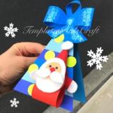 Christmas Tree Santa Claus Craft Card Holidays Around the World Fun Activities