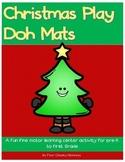 Christmas Tree Sensory Play  - Play Doh Mat Printables