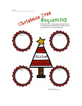 {FREEBIE} Christmas Tree Sequencing