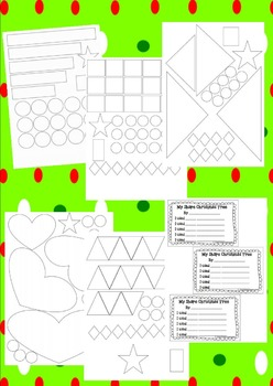 Christmas Tree Shape Craft Printables