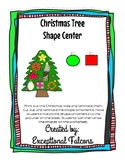 Christmas Tree Shape Sorting Center