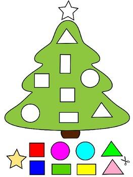Christmas Tree Shapes - Free