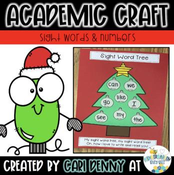 Christmas Tree Sight Word Craft