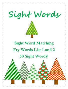Sight Word Winter Game