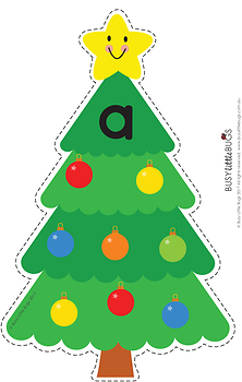 Christmas Tree Sort - Initial Sounds