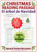 Christmas Tree - Spanish Reading Passage - El árbol de Navidad