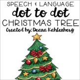 Christmas Tree {Speech & Language Dot Art}