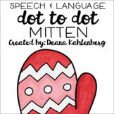 Mitten {Speech & Language Dot Art}