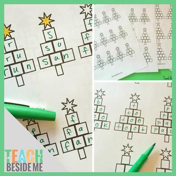 Christmas Tree Spelling