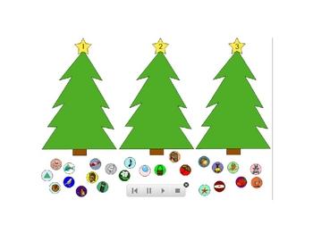 Christmas Tree Syllable Sort