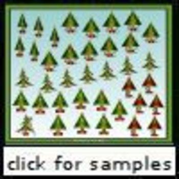 Christmas Tree Tally Marks