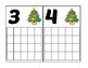 Christmas Tree Ten Frame Activity (Numbers 1-20)