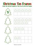 Christmas Tree Ten Frames - 2