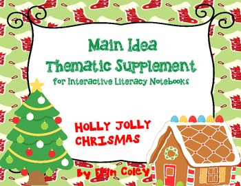 Christmas Tree Themed FREEBIE for Interactive Literacy Not