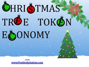Christmas Tree Token Economy