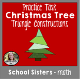 Christmas Tree Triangle Construction Task