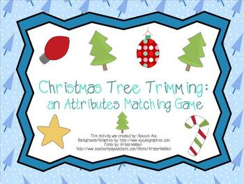 Christmas Tree Trimming: an Attribute Matching Game