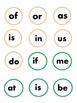 Christmas Tree Two Letter Word Match/ Bingo