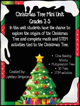 Christmas Tree Unit for Big Kids