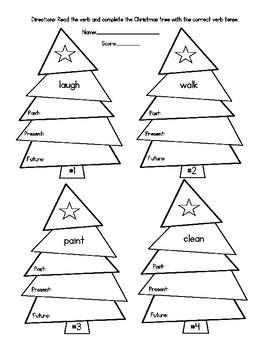 Christmas Tree Verbs