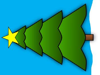 Christmas Tree Vocabulary