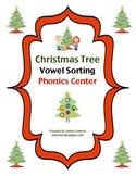 Christmas Tree Vowel Sorting