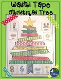 #decemberdeals Christmas Tree Speech Therapy Washi Tape No Prep Print Go!