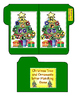 Christmas Tree and Ornaments letter Matching Game