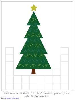 Christmas Tree and Presents Advent Calendar
