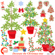 Christmas Tree clipart, Decorate your own Christmas Tree,
