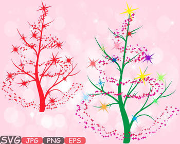 Christmas Tree clipart clip art snow gift santa christ tree green Shirt -546s