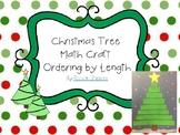 Christmas Tree ordering by length longer to shorter
