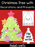 Christmas Tree with Decorations and Presents - Jackie's Crafts, Winter Activity