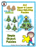 Christmas Tree with a Star - Alphabet / Letter Puzzles - S