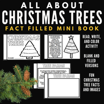 Christmas Trees Unit Mini Booklet