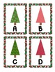 Christmas Trees Alphabet Scavenger Hunt: Upper and Lowercase Letters