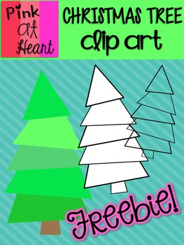 Christmas Trees Clip Art FREEBIE