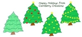 Christmas Clip Art : Trees