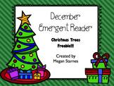 Christmas Trees Emergent Reader **Freebie**